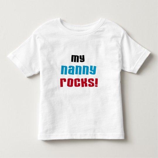 My Nanny Rocks T shirts and Gifts