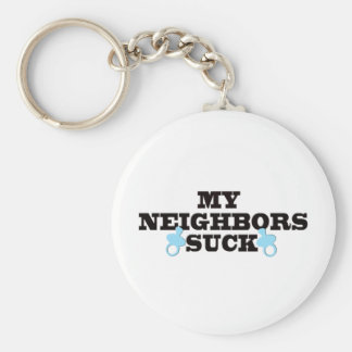 My Neighbors Suck Key Ring