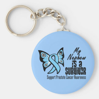 My Nephew is a Survivor - Prostate Cancer Key Chains