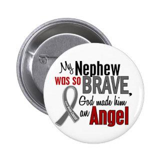 My Nephew Is An Angel 1 Brain Cancer 6 Cm Round Badge