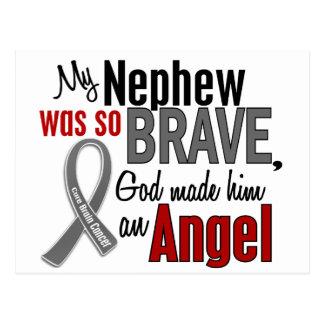 My Nephew Is An Angel 1 Brain Cancer Postcard