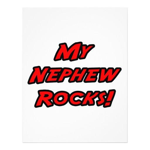 My Nephew Rocks Full Color Flyer