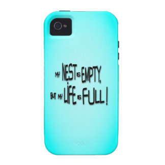 My Nest Is Empty, But My Life Is Full! Vibe iPhone 4 Case