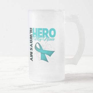 My Niece Always My Hero - Ovarian Cancer Coffee Mug