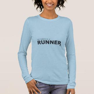 MY NIECE IS A RUNNER 5K/GYNECOLOGIC-OVARIAN CANCER LONG SLEEVE T-Shirt