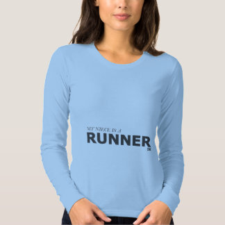 MY NIECE IS A RUNNER 5K/GYNECOLOGIC-OVARIAN CANCER T SHIRTS