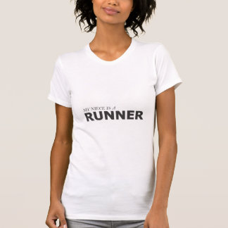 MY NIECE IS A RUNNER/GYNECOLOGIC-OVARIAN CANCER T-SHIRT