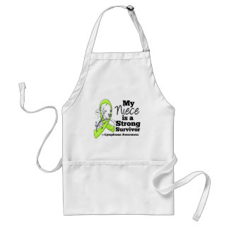 My Niece is a Strong Survivor of Lymphoma Standard Apron