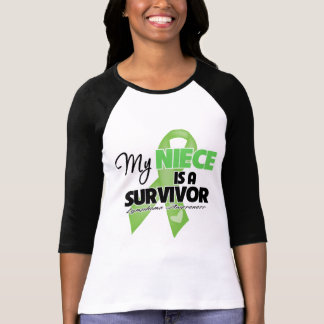 My Niece is a Survivor - Lymphoma Tee Shirt