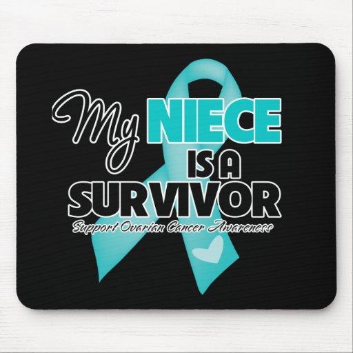 My Niece is a Survivor - Ovarian Cancer Mouse Pad