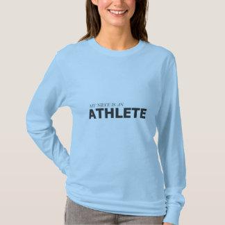 MY NIECE IS AN ATHLETE/GYNECOLOGIC-OVARIAN CANCER T-Shirt