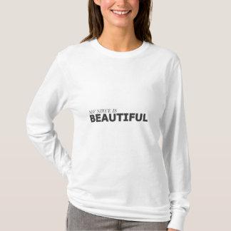 MY NIECE IS BEAUTIFUL/GYNECOLOGIC-OVARIAN CANCER T-Shirt