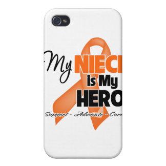My Niece is My Hero - Leukemia iPhone 4 Covers