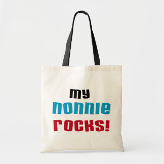 My Nonnie Rocks t-shirts and Gifts Budget Tote Bag