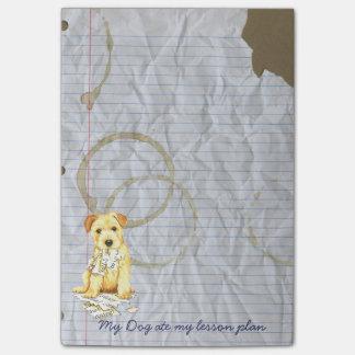 My Norfolk Terrier Ate My Homework Post-it® Notes