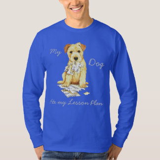 My Norfolk Terrier Ate My Lesson Plan T-Shirt