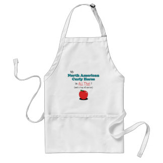 My North American Curly Horse is All That! Standard Apron