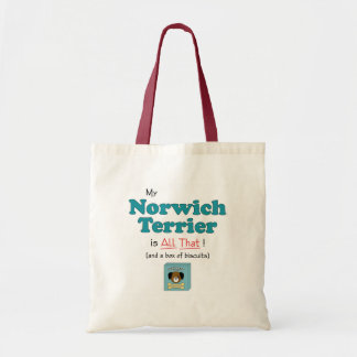 My Norwich Terrier is All That! Tote Bag