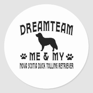 My Nova Scotia Duck Tolling Retriever Dog Stickers