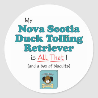 My Nova Scotia Duck Tolling Retriever is All That Stickers