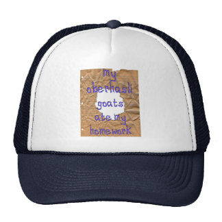 My Oberhasli Goats Ate My Homework Trucker Hat
