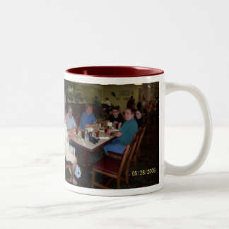 my oklahoma family Two-Tone coffee mug