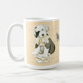 My Old English Sheepdog Ate My Homework Coffee Mug