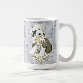 My Old English Sheepdog Ate my Lesson Plan Coffee Mug