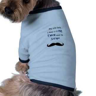 My old lady dog tee shirt