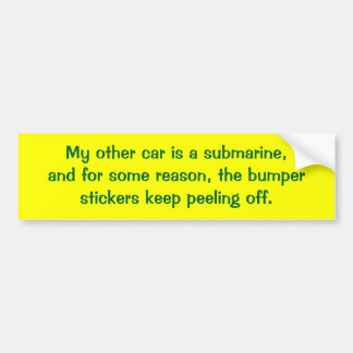 my-other-car-30 bumper sticker