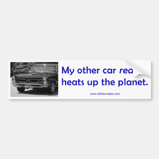 My Other Car (65 GTO) Bumper Sticker