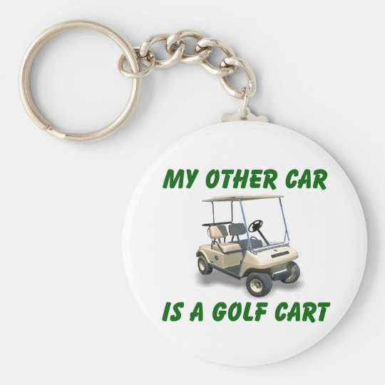 My other car basic round button key ring