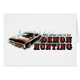 My other car... greeting card