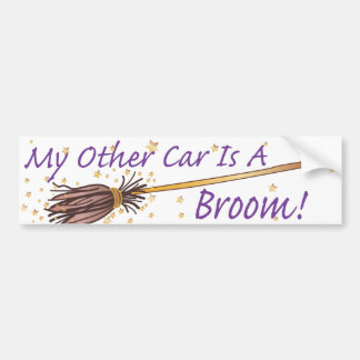 My Other Car Is A Broom 2 - Bumber Sticker Bumper Stickers