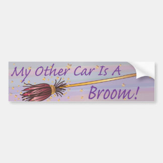 My Other Car Is A Broom 6 - Bumber Sticker Bumper Sticker