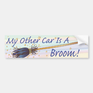 My Other Car Is A Broom 7 - Bumber Sticker Bumper Stickers