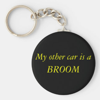 My other car is a , BROOM Key Ring