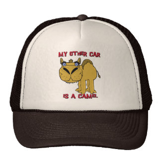 My Other Car is a Camel Schnozzle Cartoon Cap