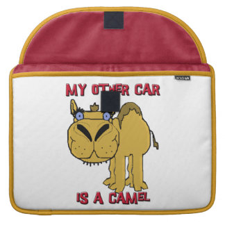 My Other Car is a Camel Schnozzle Cartoon Sleeves For MacBook Pro