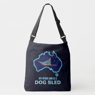 My Other Car Is A Dog Sled - Australia Crossbody Bag