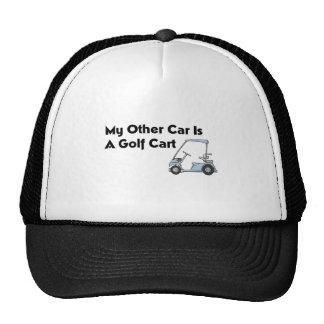 My Other Car is A Golf Cart Cap