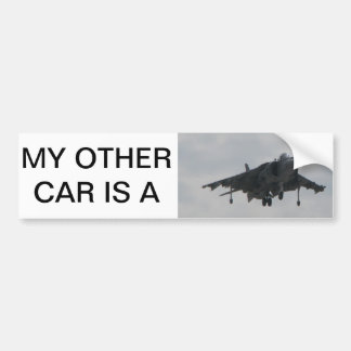 My other car is a Harrier Car Bumper Sticker