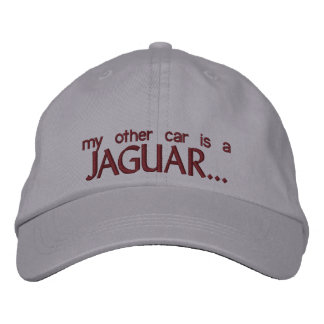 MY OTHER CAR IS A JAGUAR EMBROIDERED HAT
