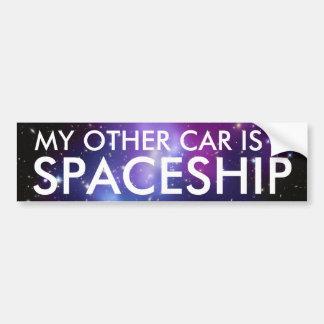 My Other Car is a Spaceship Bumper Sticker