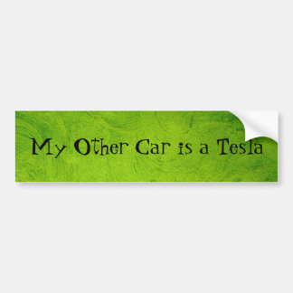 My Other Car is a Tesla Bumper Sticker