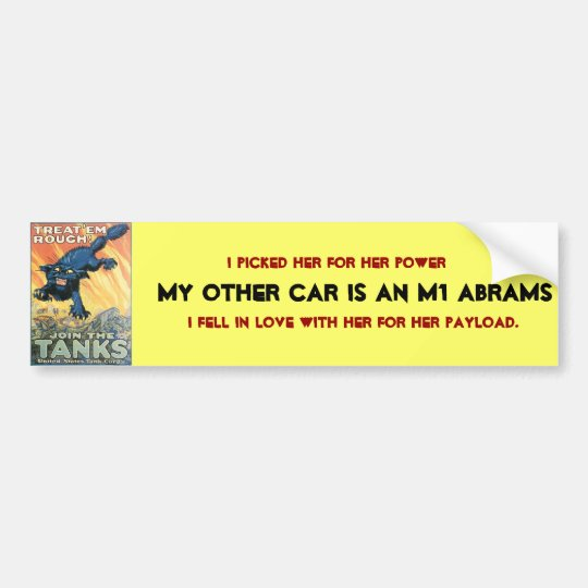 My other car is bumper sticker