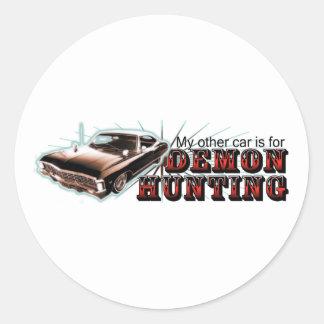 My other car... round sticker