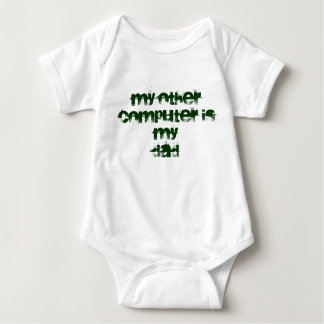 My other computer is... baby bodysuit