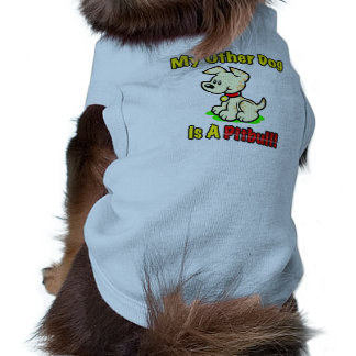 My Other Dog Is A Pitbull! Dog Pullover Sleeveless Dog Shirt