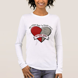 My other Half is finally back Long Sleeve T-Shirt